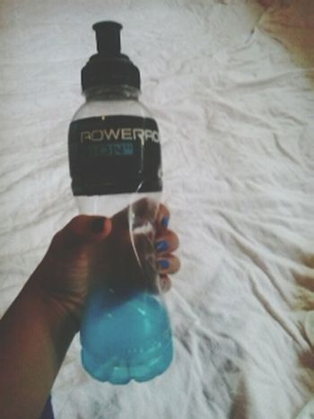 i'm not an athletic girl but... i like to drink this :P Powerade