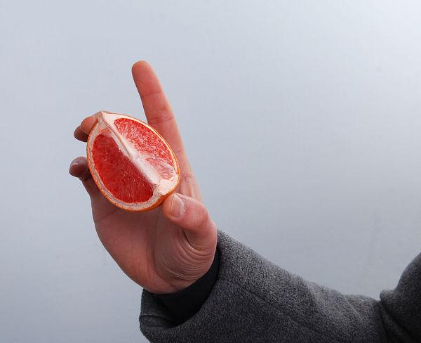 citrus Citrus  Citrus Fruit Grapefruit Hand Horizon Over Water Lemon Male Shopping Vitamin