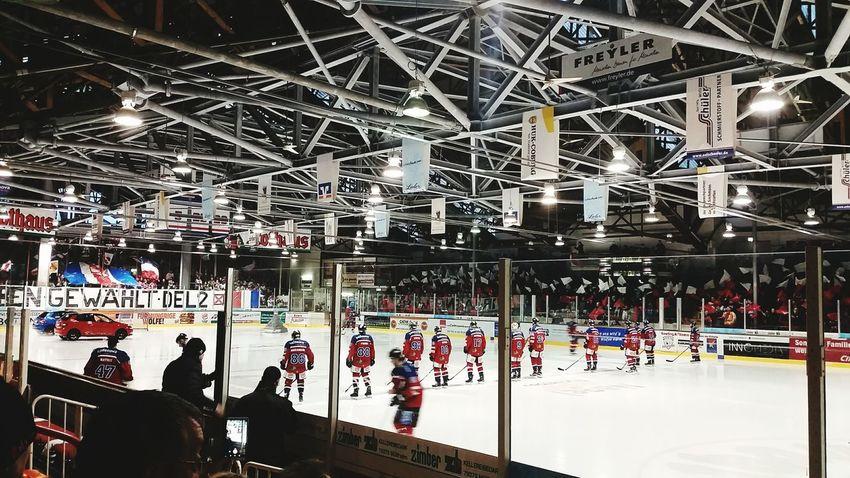 EHC Freiburg Vs ESV Kaufbeuren Del2 Eishockey Icehockey