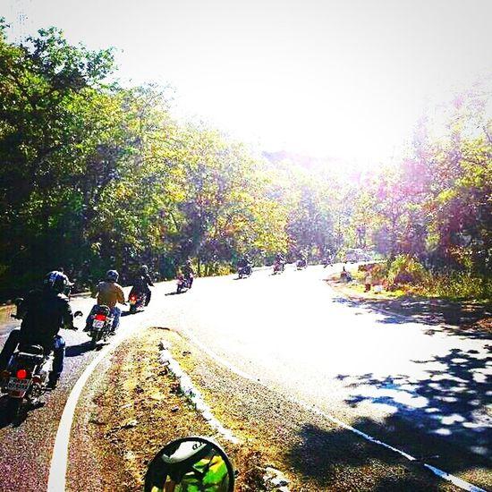 Open Edit Indore Bulleteers Club Asirgarh Royalenfield Riders Roads Traveling Curves