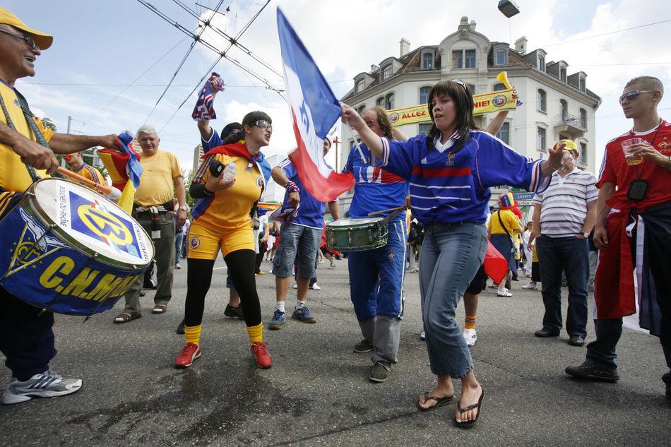 Colors EK  Fans Football Football Fever France Paint Smile Soccer Soccer⚽ SUPPORT UEFA