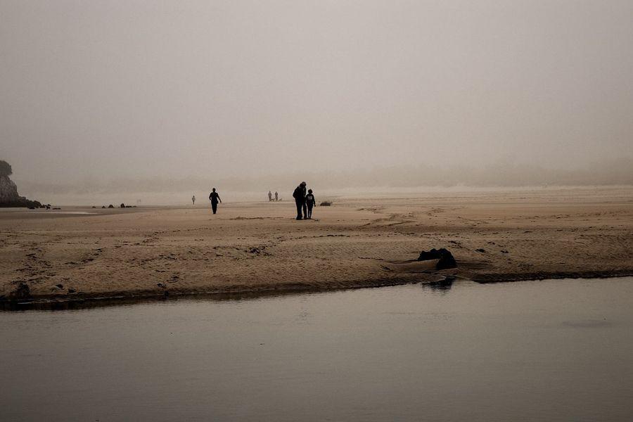 Isla Cantabria Niebla Water Sky Group Of People Beach Land Landscape SPAIN EyeEmNewHere Capture Tomorrow
