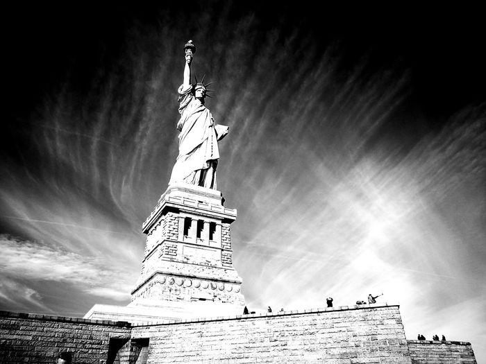Statue Of Liberty Ellis Island  Liverty Woman Who Inspire You New York City Lightnight  Skylane No Sleep