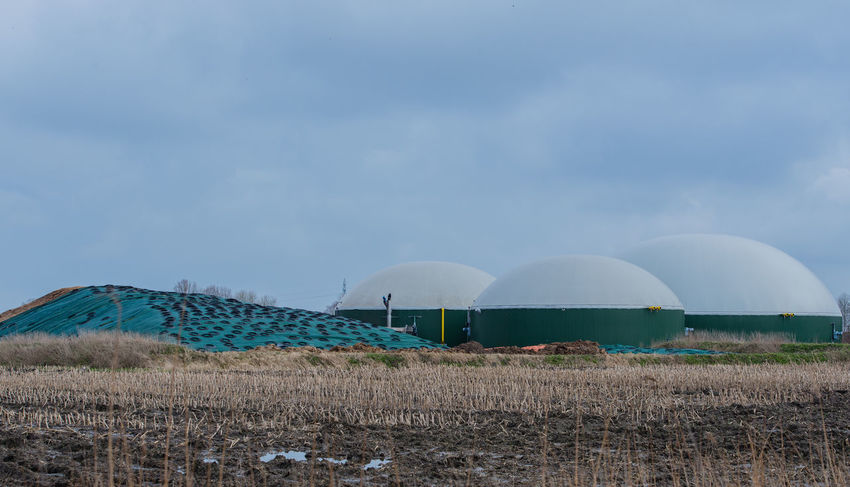 Biogas plant for power generation and energy Agriculture Bio Biogasanlage Field Gas Power Plant Agra Bio-methane Bio-waste Biogas Biogas Plant Biological Biomass Biopower C02 Cogeneration Corn Energy Environment Heat Generation Manure Power Generation Protection Renewable Silage