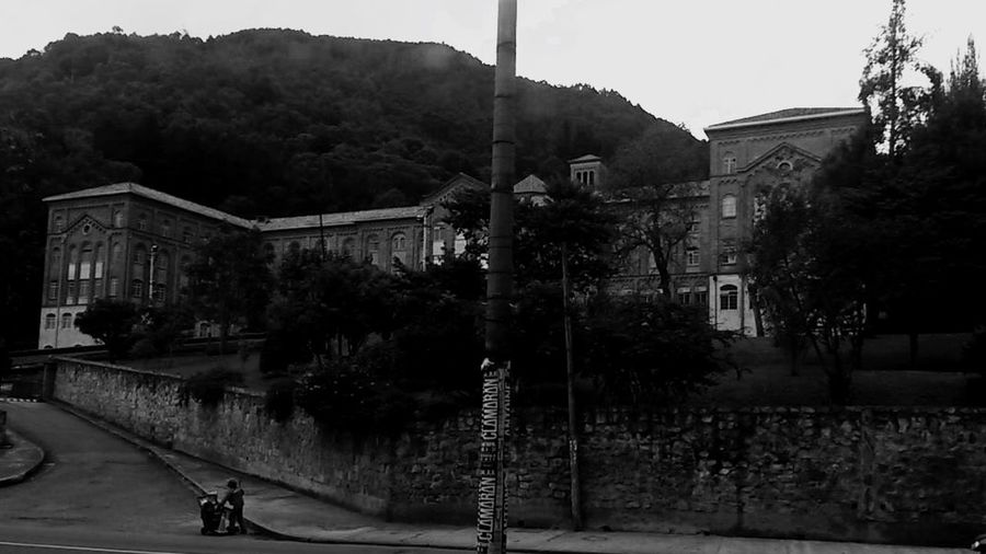 B/w Blackandwhite Bogotá Seminario Mayor