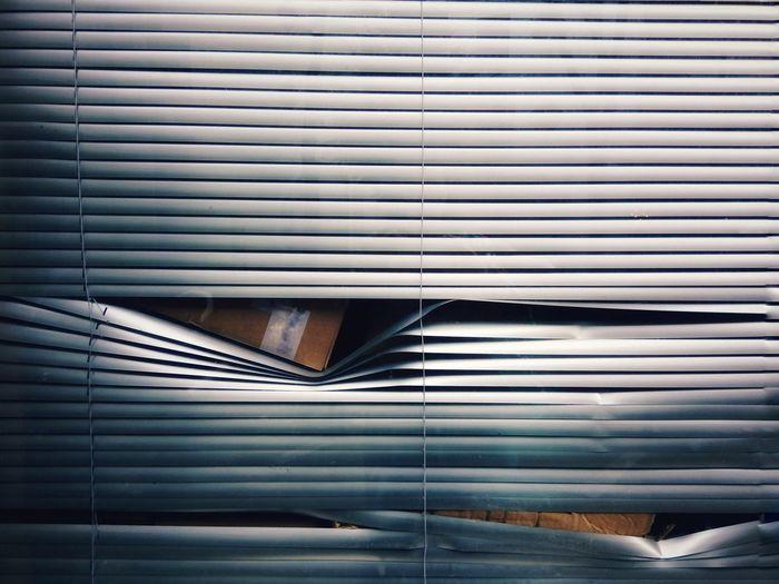 Full frame shot of shutter window