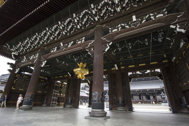 Kyoto, May 2017. Higashi Hongan-ji Kyoto, Japan Jr Kyoto Kyoto Station Kyoto Train Station 京都 京都駅 日本 東本願寺