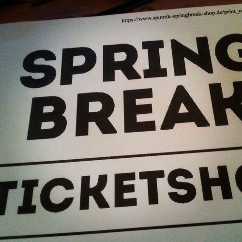 Sputnik Spring Break 2015  Save My Ticket Today It Will Be Great