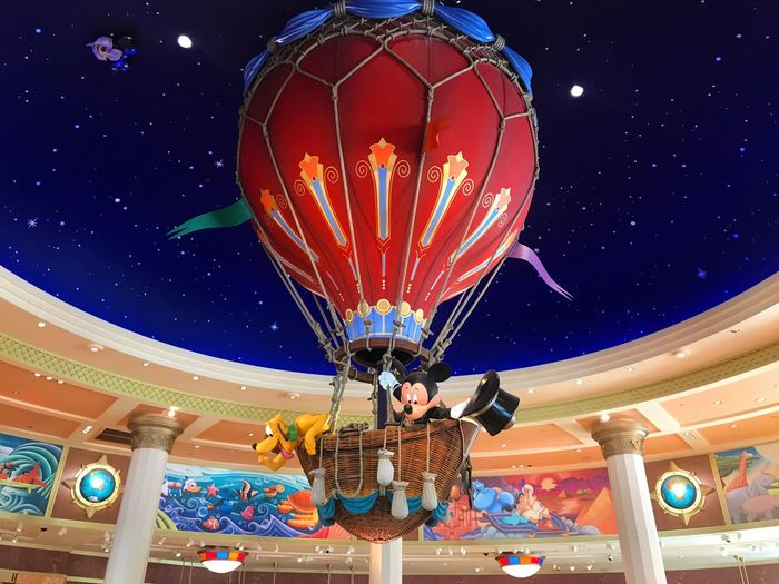 Paris Birthday Gifts💗 France People Happy Disneyland Mickey Mouse Multi Colored Low Angle View Night Illuminated Adventure Hot Air Balloon Star - Space Astronomy One Person Sport One Man Only Outdoors Adult Sky Space Only Men Adults Only Astrology Sign Galaxy