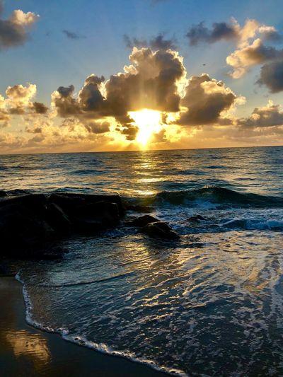 Sunrise !! Sea