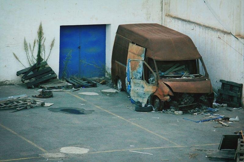 Ctm. Car Broken Beauty