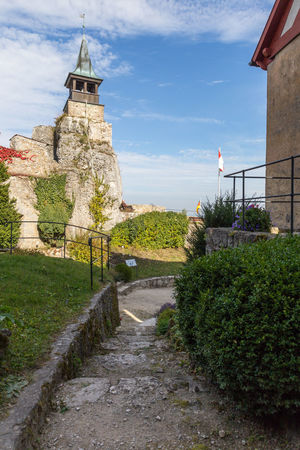Castle Hohenstein Architecture Building Exterior Built Structure Day Grass History Nature No People Outdoors Plant Sky Tree