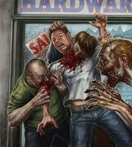 Check This Out! Notes From The Underground ArtWork ShitJustGotREAL Horrorart Horrorlover