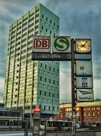 Hamburg Altona Skyscraper Perspective Buildings & Sky Bus Street Style Hdrphotography Urban Jopesfotos - Urban