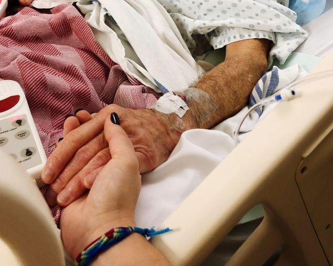 Life sometimes goes full circle and the child becomes the care and comfort. Operation CancerSucks Cancer Real People Human Hand Hospital Healthcare And Medicine Hand Human Body Part Two People Patient Togetherness Love Care Adult Humanity Meets Technology #NotYourCliche Love Letter