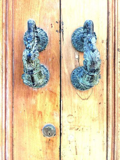 Abre Pomo Madera puerta