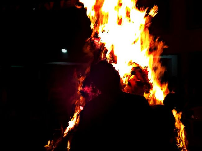 Fire - Natural Phenomenon Flame Heat - Temperature Burning Danger Night Real People Headshot Rear View Men Adults Only Togetherness Outdoors People Bonfire Adult Smoke - Physical Structure Only Men Inferno Close-up Holi 2017 Holi Festival Of Colours Holikadahan Holikaholika AWESOME!!
