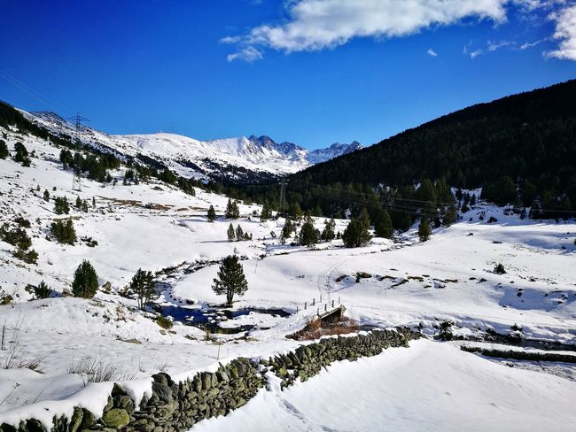 Mountain Snow Outdoors Mountain Range Beauty In Nature Nature Andorra🇦🇩 Scenics Perspectives On Nature