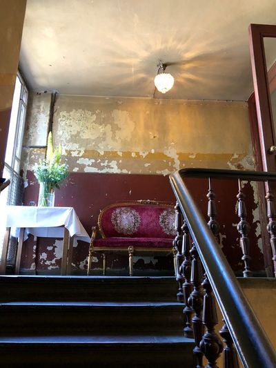 Best Of Stairways stairways Stairs Spiegelsaal Berliner Ansichten Berlin Photography Morbidity Indoors  No People Staircase Home Interior Railing Architecture Built Structure Absence Old Damaged Abandoned Steps And Staircases Window Plant