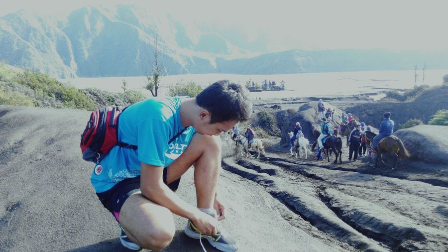 Bromo Mountain Bromo Mountain Vintage Amazing Places Amazing Bromo Mountain Runningman Indorunners Sunlight Travel Photography Popular Photos