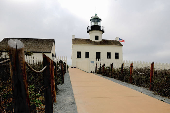 Lighthouse Lighthouse Architecture Building Exterior Built Structure Cloud - Sky Day Nature No People Outdoors Prison Sky