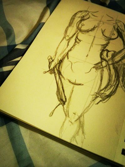 New Sketch. Drawing Sketch Art Woman
