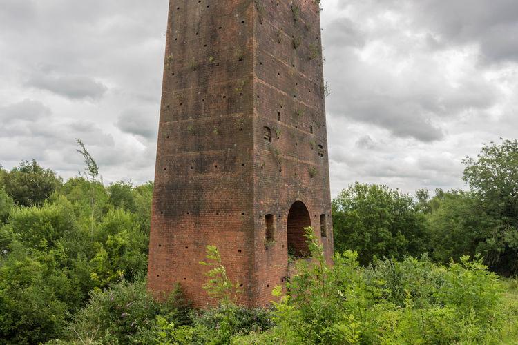 Lime kilns at Betchworth Quarry Architecture Building Exterior Heritage Building History Kiln Lime Kilns Nature Tower