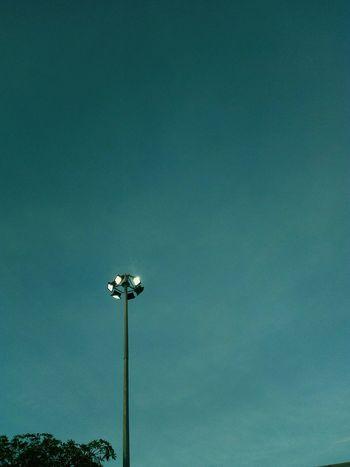 Llight Blue Close-up Sky