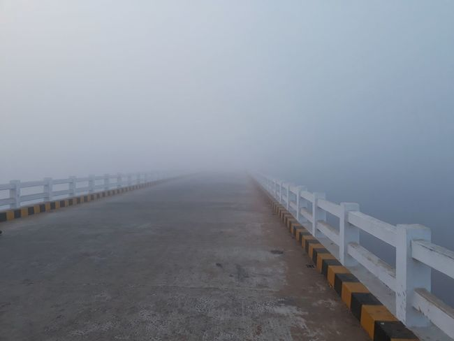 Roadway to Heaven. Beach Sea Sand Tranquility Fog Outdoors Water Cold Temperature EyeEmNewHere