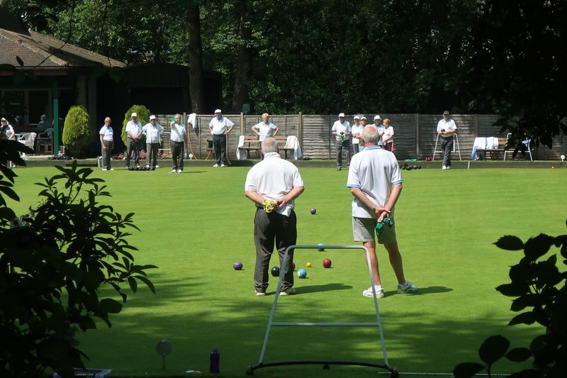 Utterly English England Bowling Bowls Real People Group Of People Sport Plant Men Leisure Activity Grass Playing Outdoors