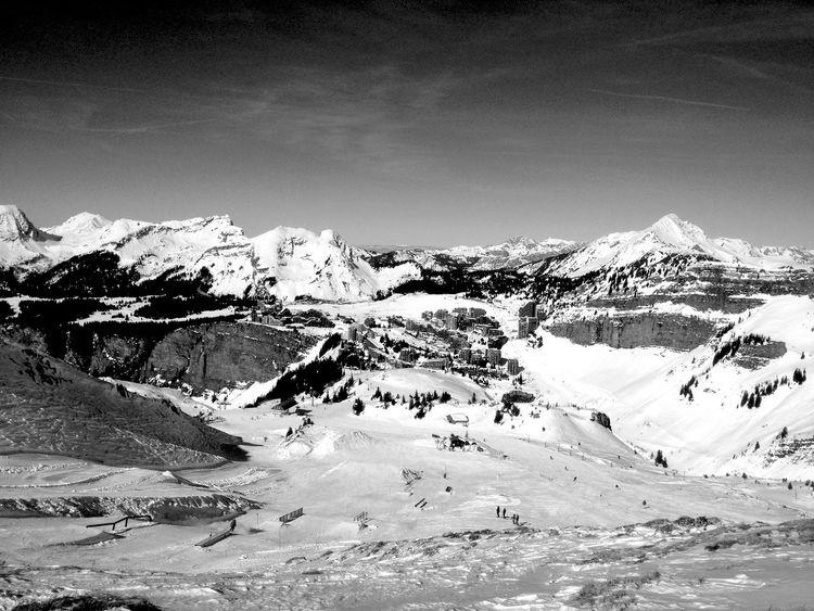 Avoriaz Snow Ski Neige Montagne Portes Du Soleil Village