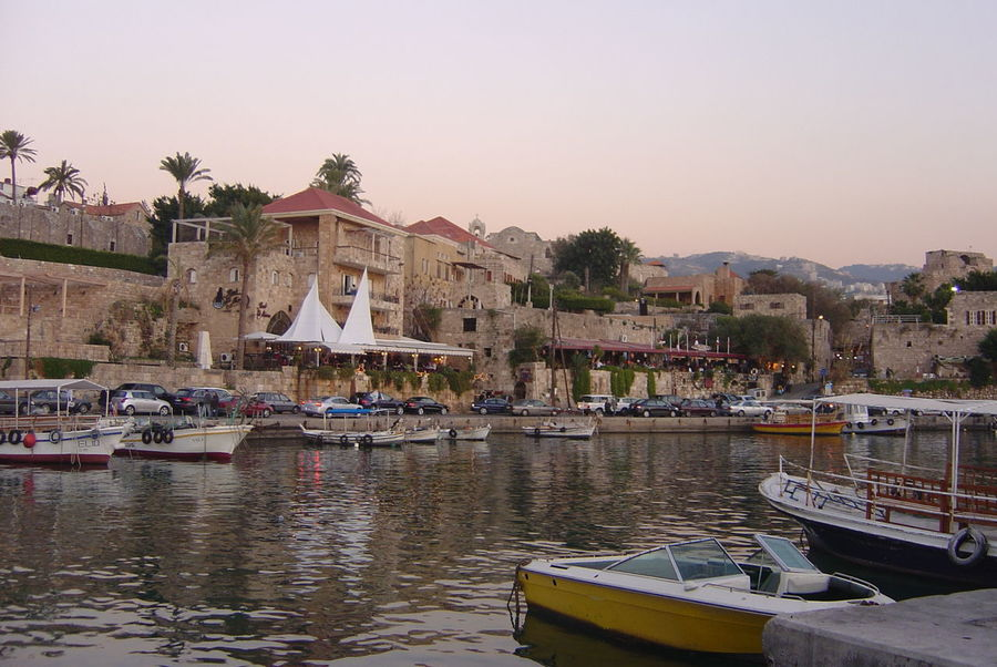 Architecture Boat Byblos,Lebanon Community Culture Famous Place House Lebnaon Moored Nautical Vessel Outdoors Town Water