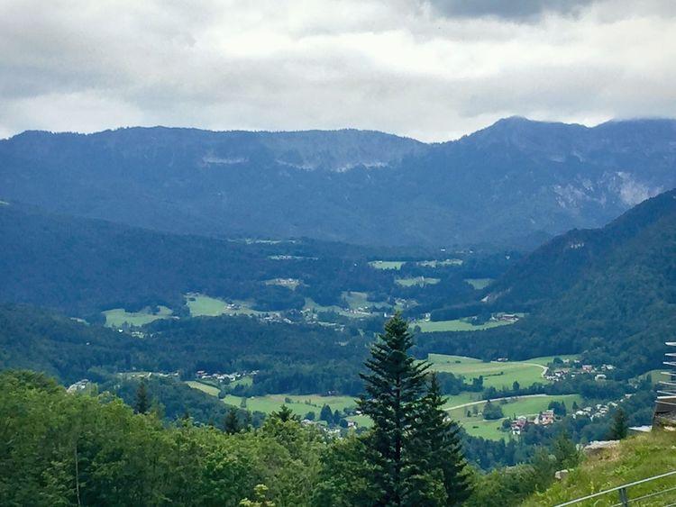 Mountain Landscape Mountain Range Nature Beauty In Nature No People Forest Sky Day Range Outdoors Bavaria Bavarian Landscape Berchtesgaden Vachendorf Kehlsteinhaus Kehlsteinhaus (Eagle's Nest) Germany Deutschland The Great Outdoors