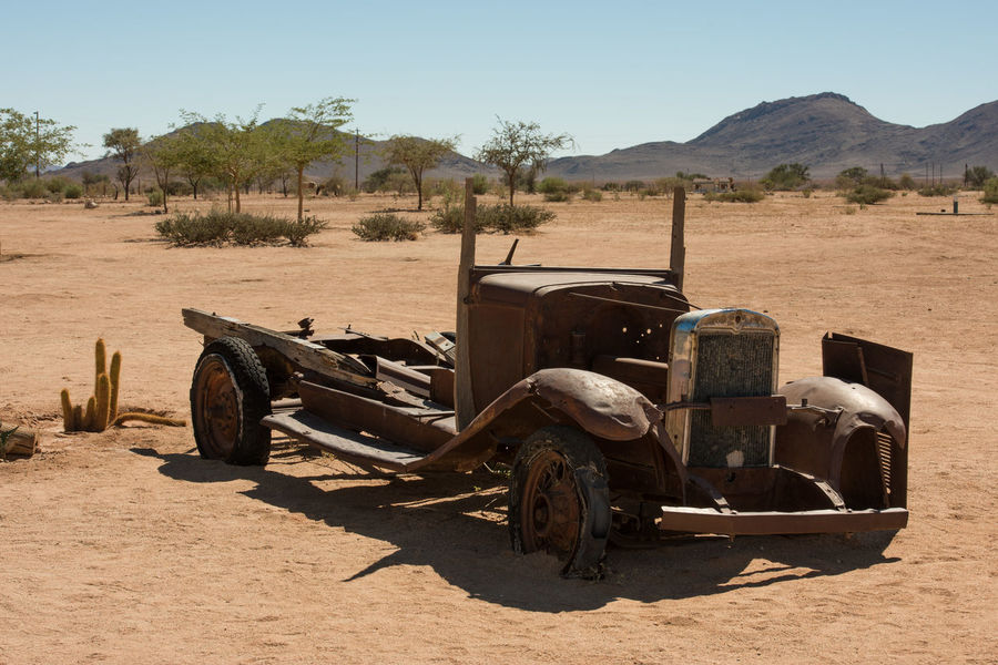 Broken Cars Car Car Collection Desert History No People Old Cars Rusty Metal