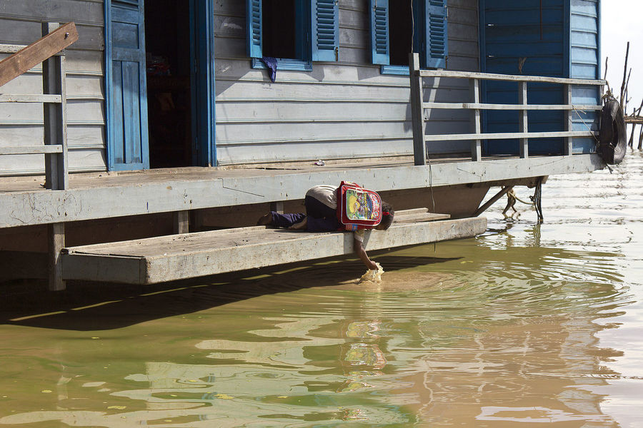 Showcase: February Orphan Floating School Orphanage Poverty Drinking Dirty Water Student Tonle Sap Lake Tonle Sap Kampuchea Siem Reap Cambodia Lifeasiseeit Johnnelson Southeastasia Floatingvillage Floating On Water Asian Culture
