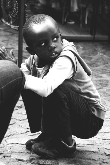 Children Children Photography Black And White Monochrome People Photography People Of EyeEm Capture The Moment Capetown Republic Of South Africa Street Photography