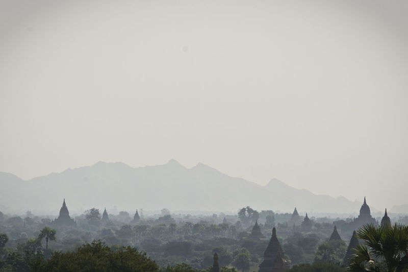 Beauty In Nature Day Fog Foggy Hill Idyllic Landscape Majestic Mist Mountain Mountain Range Myanmar Nature No People Non-urban Scene Outdoors Physical Geography Remote Scenics Sky The Great Outdoors - 2016 EyeEm Awards Tourism Tranquil Scene Tranquility Tree