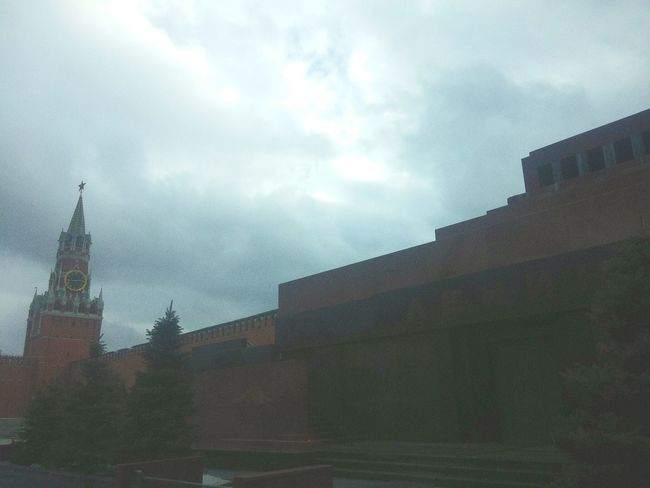 Redsquare No People Architecture Atmospheric Mood Sky Outdoors Tourism Cloud - Sky My Country Building