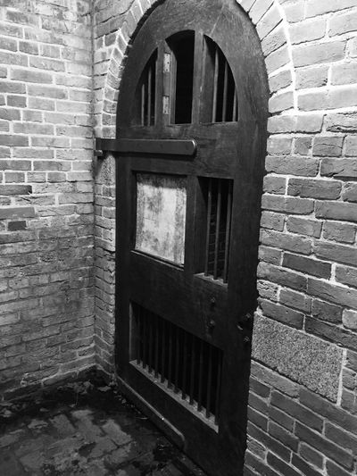 Fort McHenry Underground No People Brick Wall Architecture Close-up Doors With Stories Ammunition Storageroom The Week On EyeEm