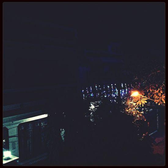 Night with lighting