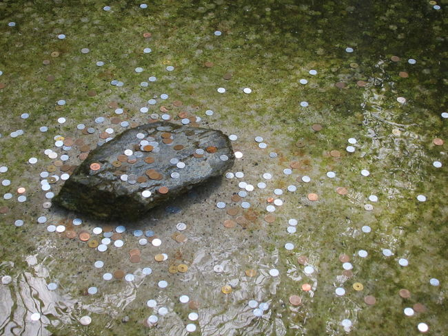 Wishful Thinking Good Luck Luck Lucky Nature No People Portrait Winter Wishesmake a wish pennies Pennies From Heaven Pennies For Your Thoughts Penny Loose Change Fountain Coins,coins,coins... Coins Coins In The Water Coins In A Fountain 銀閣寺 (慈照寺) Ginkaku-ji 銀閣寺 京都 Hope Hopes And Dreams Dazzle Sparkle Future Dreams pennies Inner Power