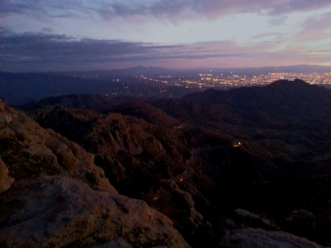 Catalina Mountains  Tuscon, Az Mt. Lemmon Great Outdoors Sunset With A View Vista Mountain Climbing Sunset_collection Glitch