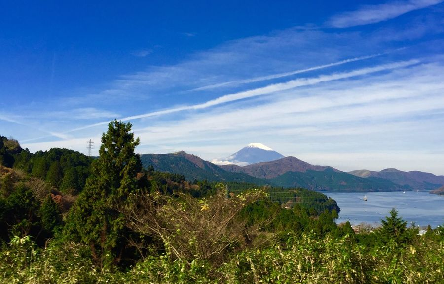 Hakone Japan Ultimate Japan Traveling Lake View Fuji Mountain Area Landscape Traveling Photography Blue Sky Nature Landscape_photography Green Nature