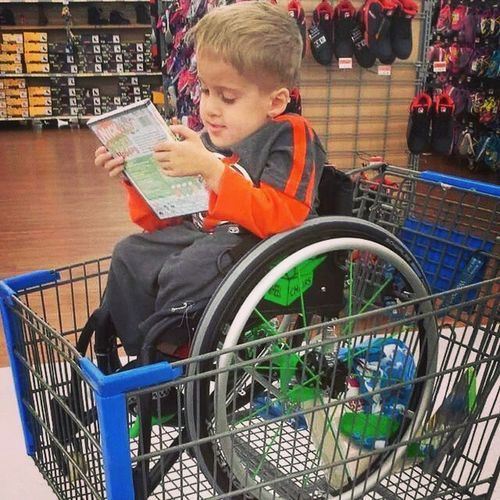 The only Disability is the dad Attitude!! Attitude Disability  Disabled