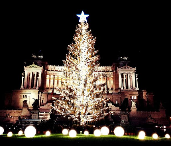 #lights #tree #christmastime #Rome #photography #lights #christmastime Arts Culture And Entertainment Tree Christmas Decoration