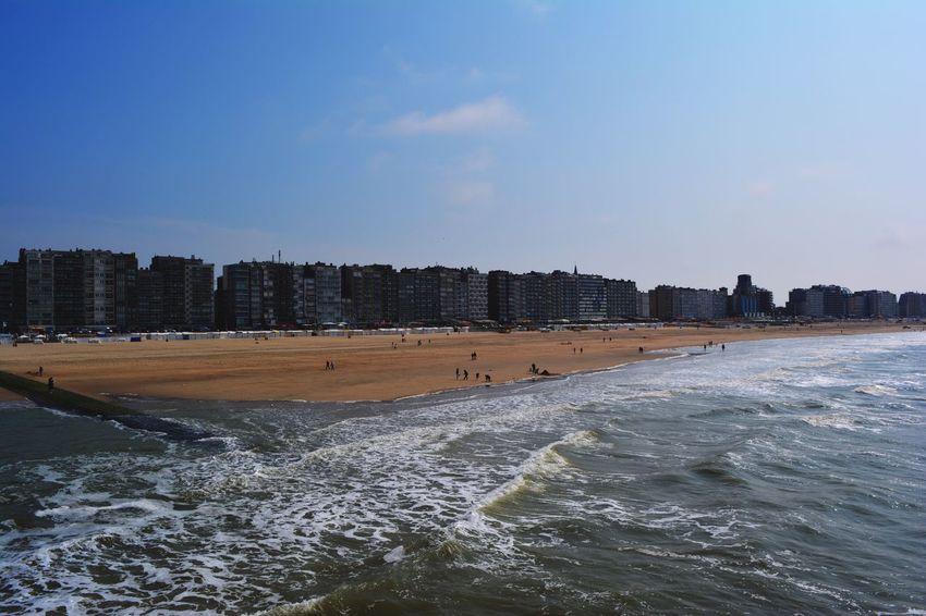 The Essence Of Summer- 2016 EyeEm Awards Nature Belgium Belgique Sea Blankenberge Beach Photography Waves Sea And Sky Blue Plage Sun