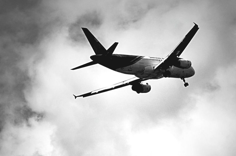 journey to the thousands feets of altitude above the ground started In The Terminal Blackandwhite Last-minute Flight Starting A Trip Public Transportation Travel Photography Catching A Flight SuvarnabhumiAirport Bangkok Sky