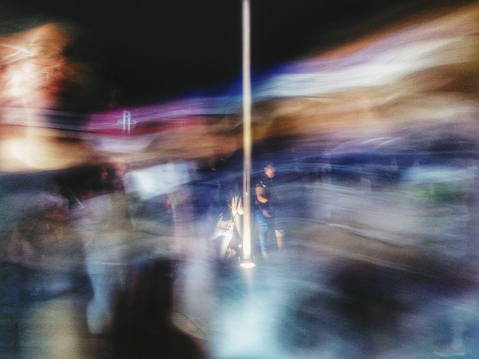 Learn & Shoot: After Dark Night Life Street Night View Street Ghosting Eyeem Philippines Blurred Motion Street Photography Long Exposure Street In Color Photography In Motion