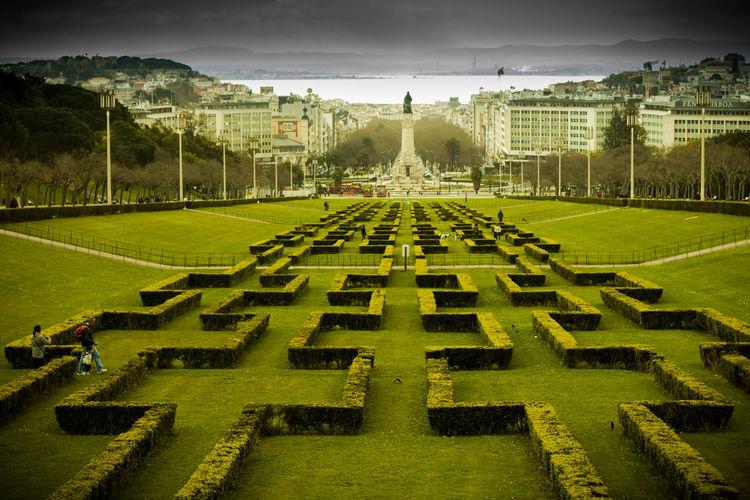 Architecture City City Life Citytrip Day Fame Green Lisbon No People Outdoors Park Park Eduardo Sky View