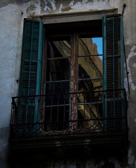 Architecture Window Building Built Structure Abandoned Damaged Old No People Building Exterior Obsolete Day Destruction Low Angle View Outdoors Run-down House Decline Broken Weathered Deterioration Ruined Window Frame Demolished